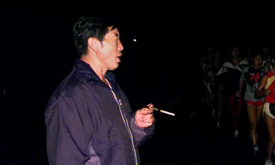 China track coach Ma Junren