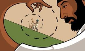 Monty Panesar illustration