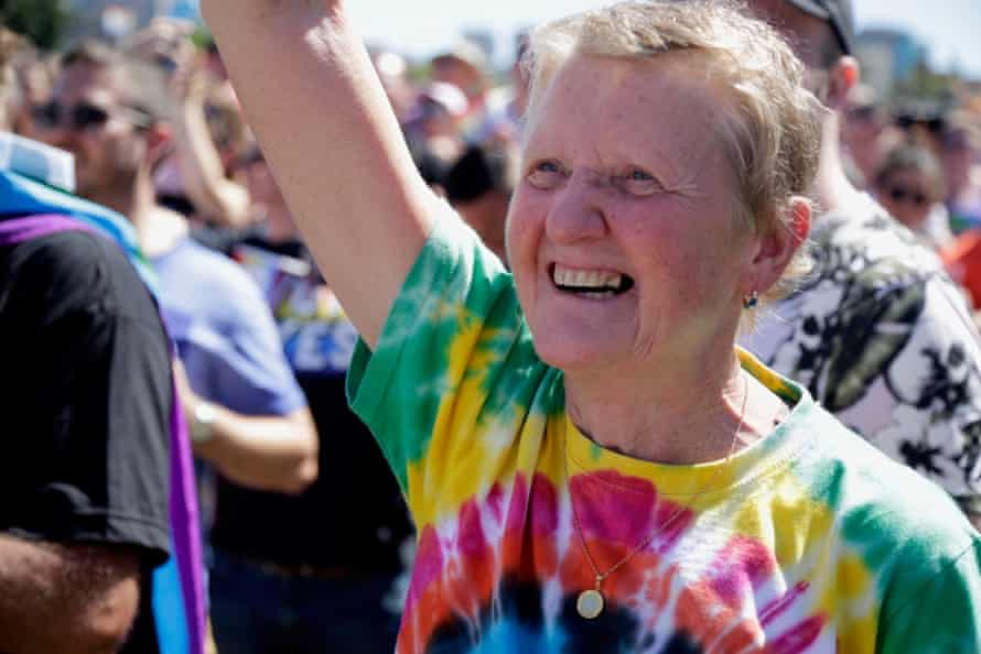 Kate Rowe will march again at Mardi Gras this year.