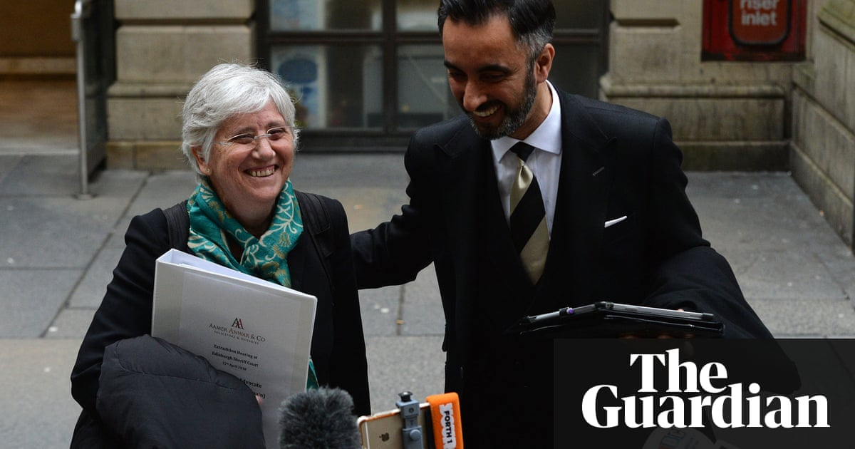 Catalan academic's lawyer accuses Spain of abusing legal process