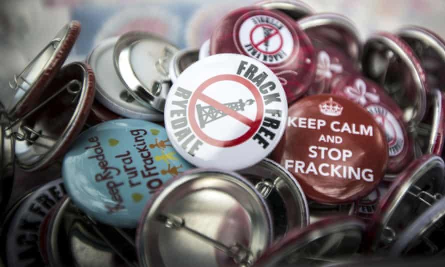 Anti-fracking demonstration, Northallerton, Yorkshire