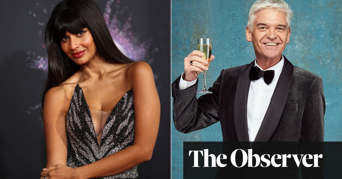 Jameela Jamil and Phillip Schofield: two tales of coming out