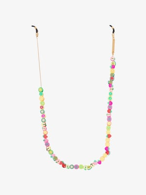 Tutti FruttiNever lose your sunglasses again with this fun fruit salad chain. £120, Frame Chain, brownsfashion.com