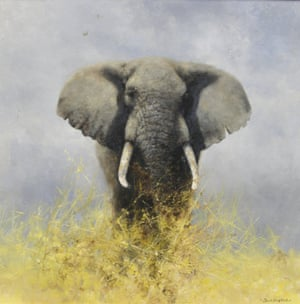 A Very Wise Old Elephant, by Shepherd. His artistic ambition and love of African wildlife were a formula for success