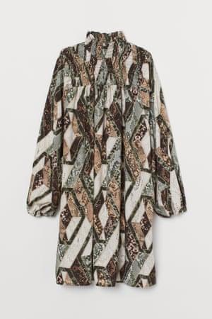 Dress with smocking, £19.99, hm.com