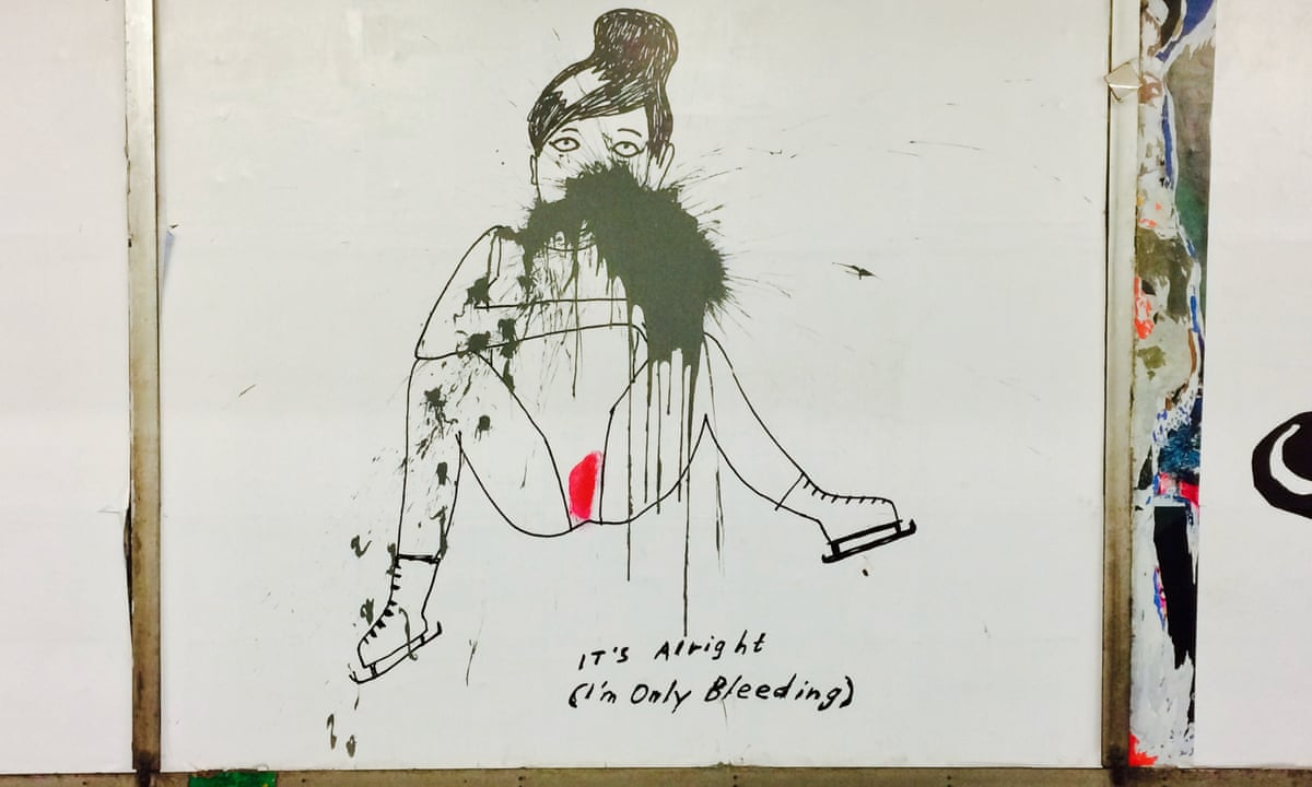 Metro art naked women Enjoy Menstruation Even On The Subway Stockholm Art Sparks Row Cities The Guardian