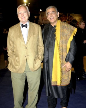 James Ivory and Ismail Merchant, 2003