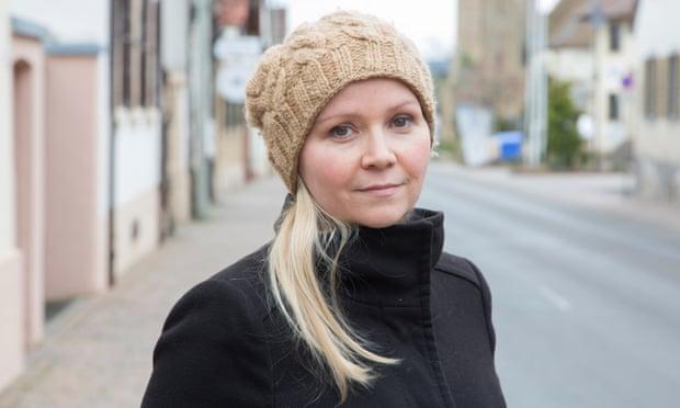 Simone Wendel in Kallstadt.
