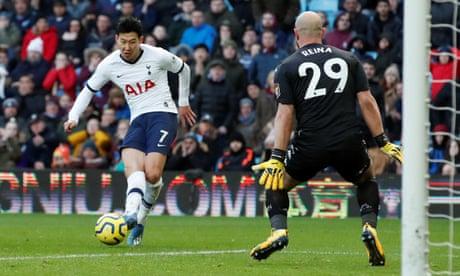 Aston Villa 2-3 Tottenham: Premier League – as it happened