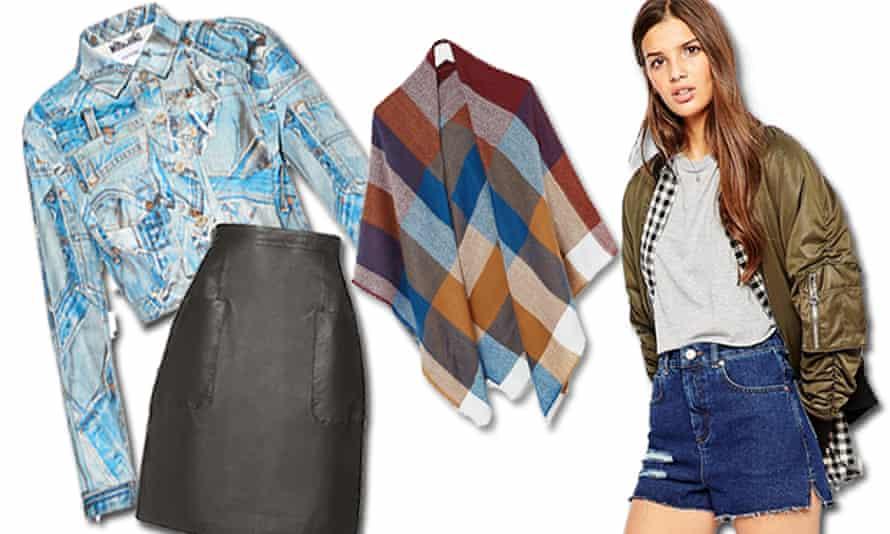 Four seasons in one day ... Guardian fashion pick their top multi-season looks.