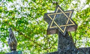 A Jewish cemetery