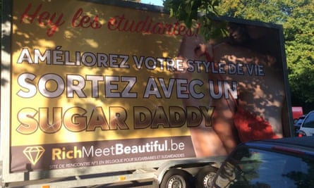 Richmeetbeautiful describes itself as a 'sugar daddy and sugar baby dating site'.