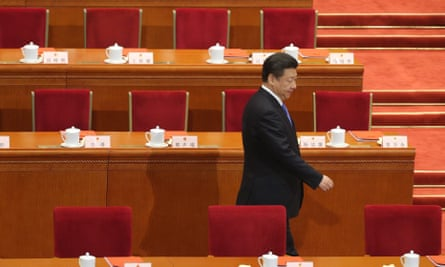 Xi Jinping at the 12th National People's Congress.