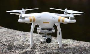 Drones are increasingly popular, although it is illegal to fly them over built-up areas or near airports.