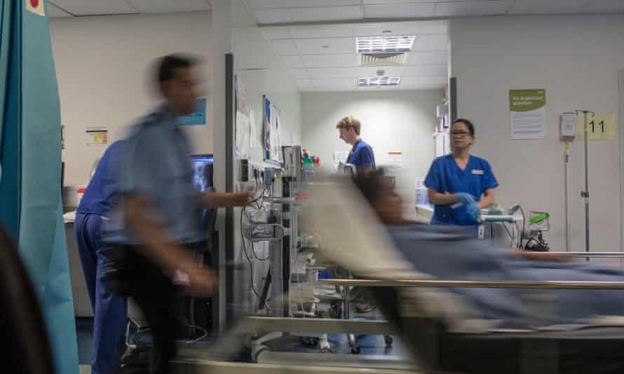 A busy hospital