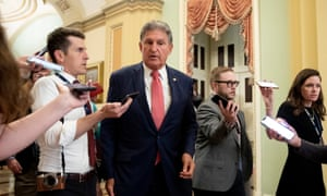 Manchin opposes the For the People Act but last week introduced a list of compromises he would support.