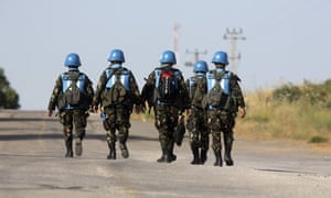 United Nations peacekeepers