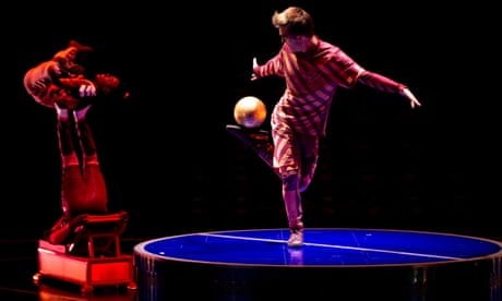 'Our art and his art': inside Cirque du Soleil's show dedicated to Messi | Sid Lowe