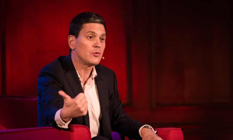 David Miliband, president of the International Rescue Committee