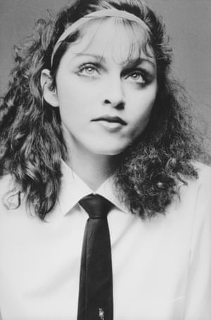 Madonna in a headshot taken in 1978 when she had moved to New York to study dance.