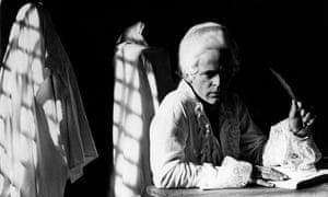 Klaus Kinski as the Marquis de Sade, in Jesus Franco's 1969 film of Justine.