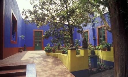Museo Casa Azul, the Frida Kahlo Museum in Coyoacán, Mexico