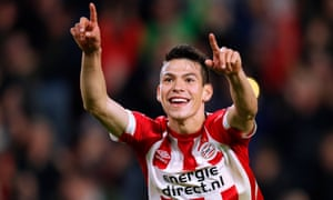 Chelsea will soon wipe the smile off Hirving Lozano's face.