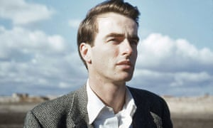 A still of Montgomery Clift. To help build their case, the film-makers had rare access to the actor's archives.