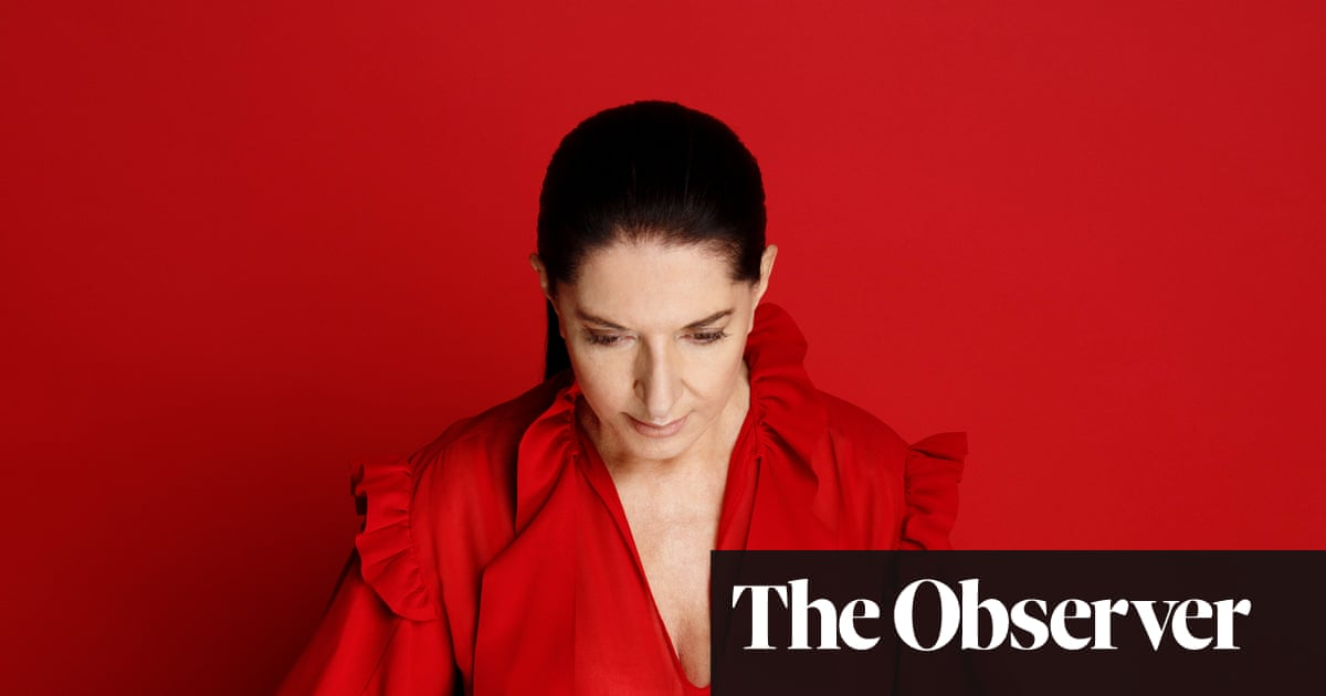 Marina Abramović: 'I think about dying every day'