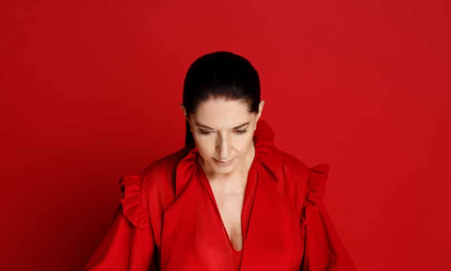 'You have to think about what you're going to leave society: as an artist you have that obligation': Marina Abramović.