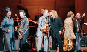 Performing with Bruce Springsteen, Sting, Jon Bon Jovi, Elton John and Billy Joel.
