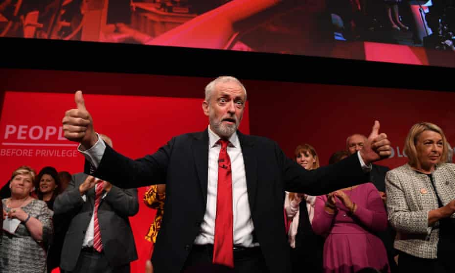 All the mesmeric vim of an optician … Jeremy Corbyn.