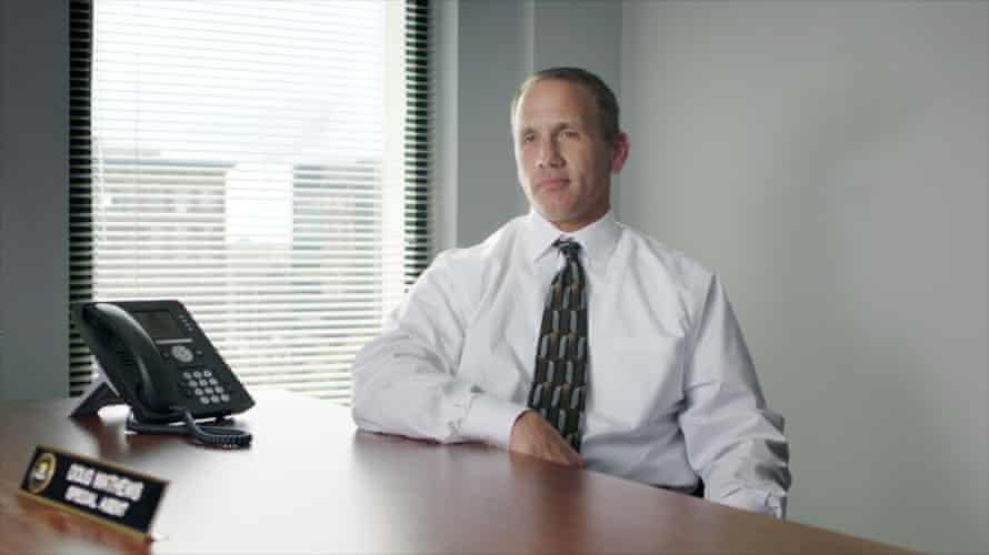 FBI Special Agent Doug Mathews in McMillions.