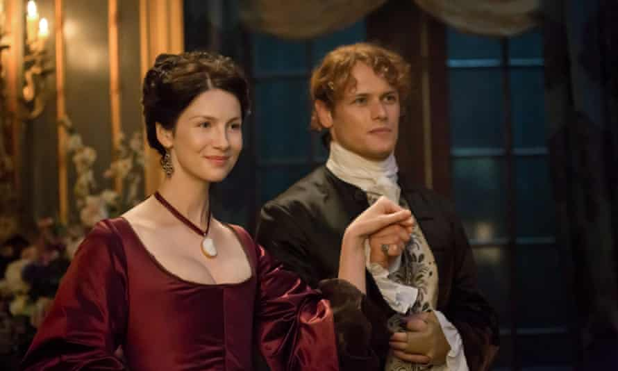 Claire (Caitriona Balfe) and Jamie (Sam Heughan) in 18th-century France.