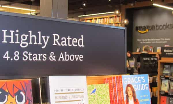 The Amazon bookstore in Seattle