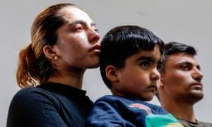 The grieving parents of Mawda Shawri