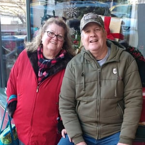 Sonia Brown and her late husband, Ronald Brown. Ronald died seven weeks before she did.
