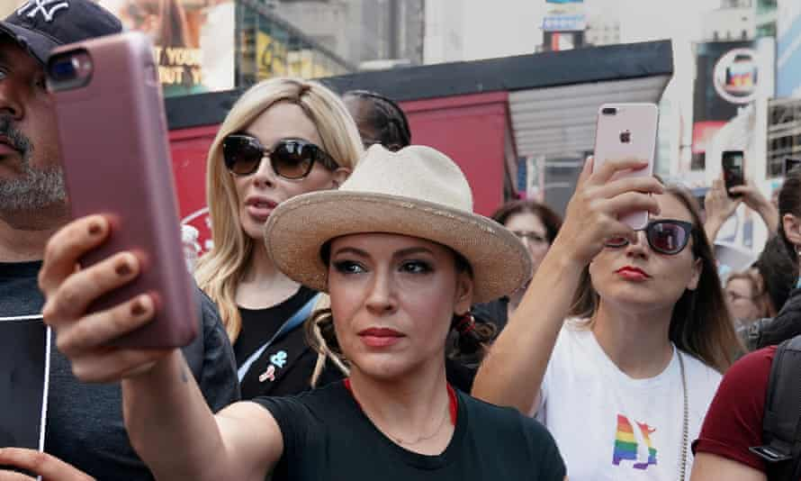 Alyssa Milano has been one of Harvey Weinstein's most vocal critics and called on women to use #MeToo to tell their stories of harassment.