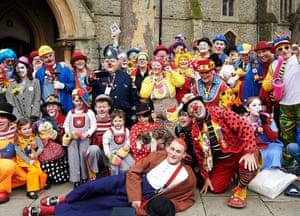 72nd International Grimaldi Clown Service at All Saints Church in Haggerston