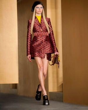 Versace model