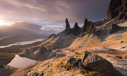 Beautiful yet harsh … The Old Man of Storr, Isle of Skye.