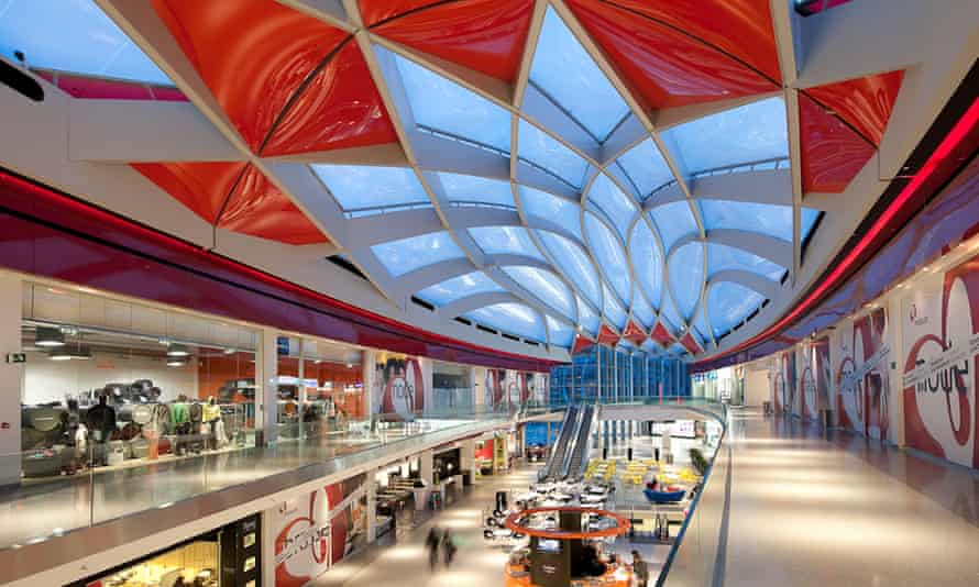 The Médiacité retail centre in Liè, Belgium, on which Asa Bruno worked with Ron Arad.