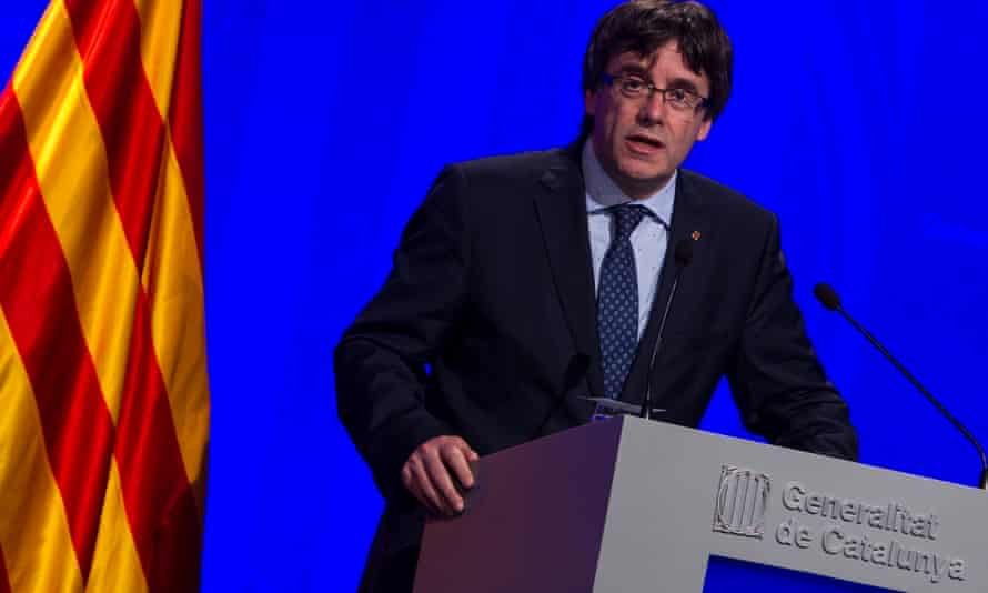 Catalonian Regional President Carles  Puigdemont