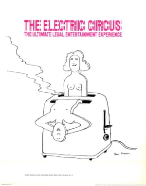 The Electric Circus (1968) by Tomi Ungerer