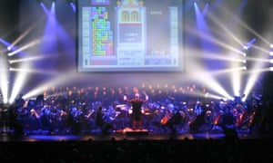 Immersive ... at Video Games Live in 2007 the orchestra plays along to Tetris