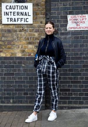 Natasha Wray, stylist
