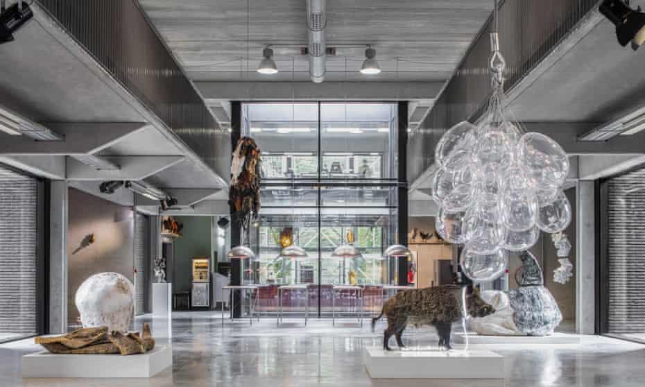 A hipster Wunderkammer … Koen Vanmechelen's creations on show at Labiomista in Genk, Belgium.