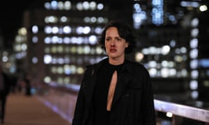 Phoebe Waller-Bridge, post punch-up, in the second series of Fleabag.