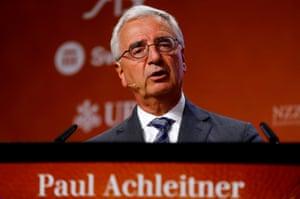 Deutsche Bank supervisory board chairman Achleitner.