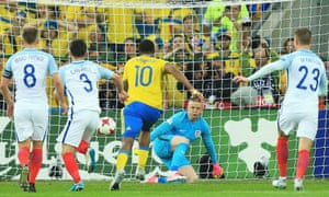 England escape after Jordan Pickford's penalty save.